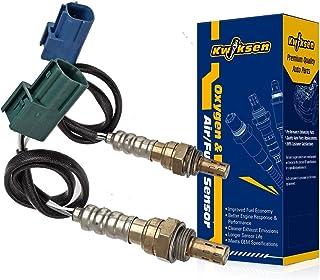Kwiksen 2pcs Upstream and Downstream Oxygen Sensor 1 Sensor 2 Bank 1 Bank 2 Replacement for Altima Base-2.5L S-2.5L SL-2.5...
