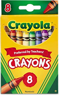 Crayola 52-3008 Crayons Assorted Colors 8 Count