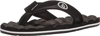 Volcom Unisex-Child Boys Boys' Recliner Youth Sandal Flip Flop