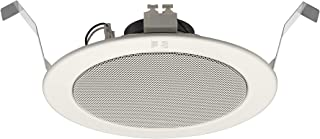 Speaker Headset for Ceiling by Toa,White PC-1869