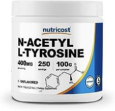 Nutricost Pure N-Acetyl L-Tyrosine (NALT) Powder 100 Grams