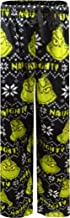 How the Grinch Stole Christmas Naughty Fair Isle Fleece Lounge Sleep Pants