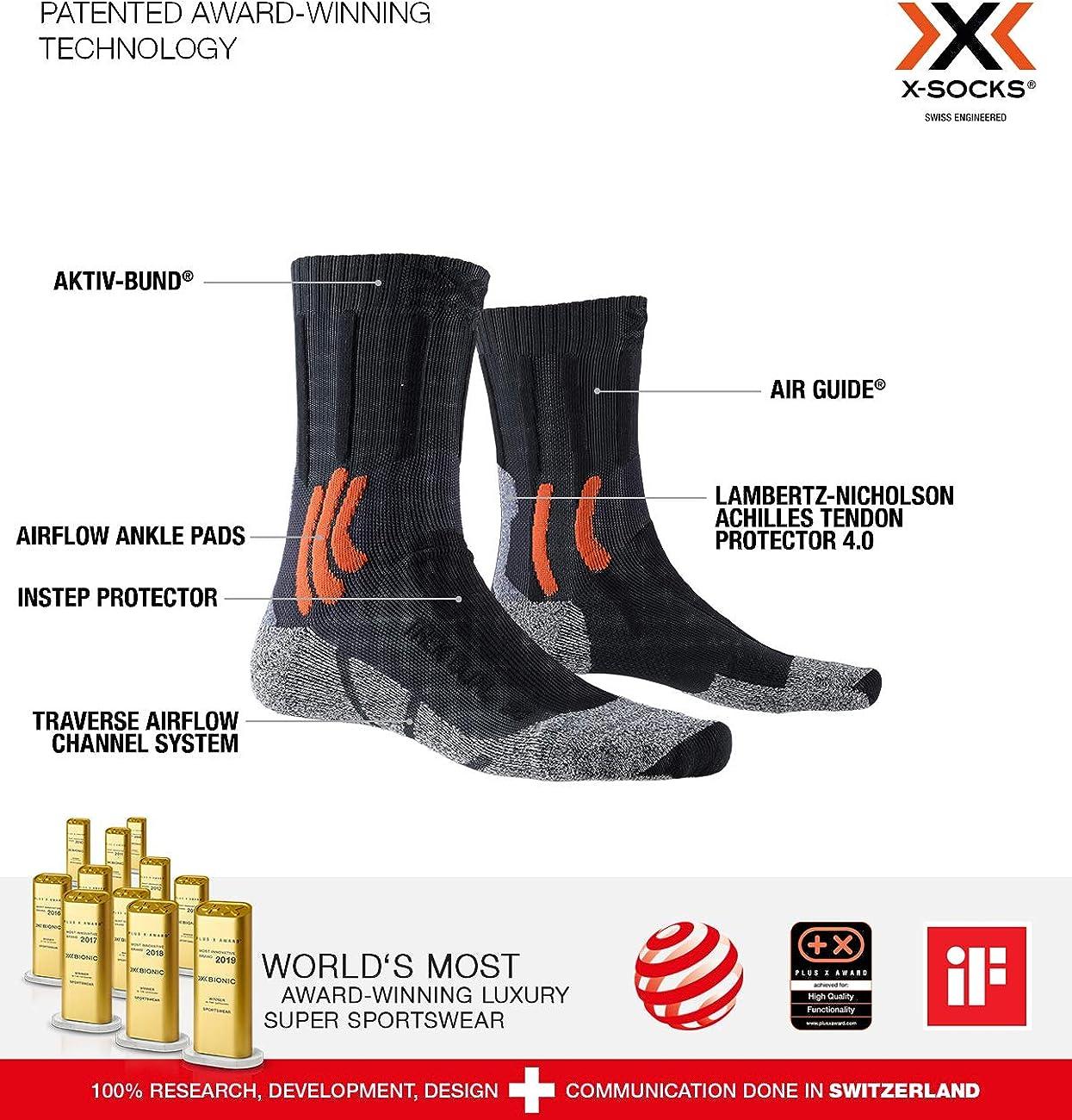 X-Bionic Trek Dual Calcet/ín T/érmico Hombre
