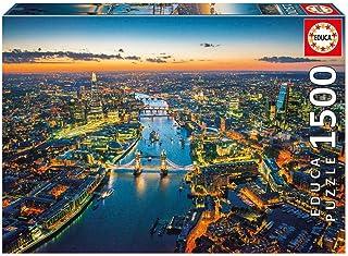 Educa Borrás - Puzzle Londres Desde el Aire, 1500 Piezas (16765.0)