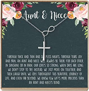 Aunt-Niece Necklace: Aunt-Niece Gift, Aunt-Niece Jewelry, Aunt-Niece Quotes