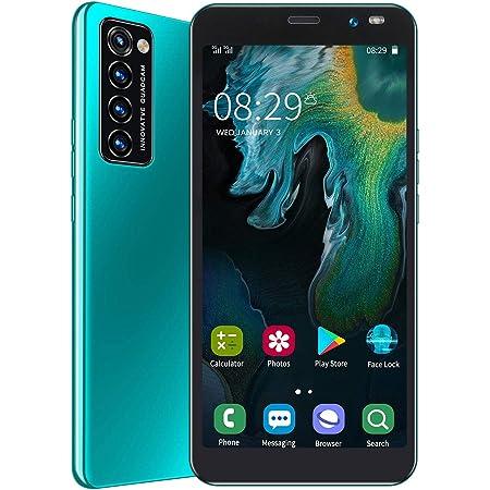 格安 スマホ本体 Rino4 Pro Android スマートフォン 本体 携帯電話 6.1インチ 大画面 1GB RAM + 8GB ROM 128GB拡張 デュアルSIM 200万画素+500万画素カメラ 2200mAhバッテリー 1年間保証付き(緑)