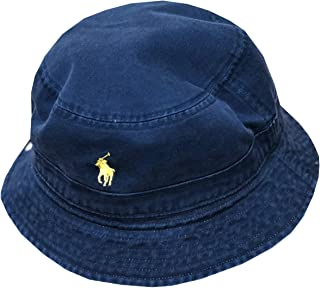 ec254a5fd1e2f Ralph Lauren Polo Mens Reversible Pony Logo Bucket Hat