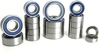 Associated T5M B5M Precision Ball Bearing Kit (18) Rubber Sealed Blue