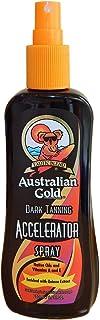Australian Gold Dark Tanning - Spray acelerador de bronceado, 250 ml