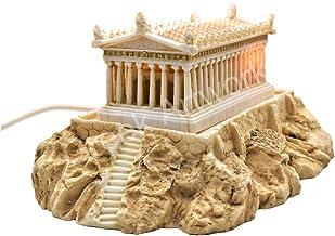Parthenon Temple Acropolis Athens Greek Goddess Athena Statue Table lamp