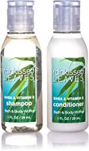 Bath & Body Works Rainkissed Leaves Shampoo and Conditioner. Lot of 18 Bottles (9 of each). Total of 18oz