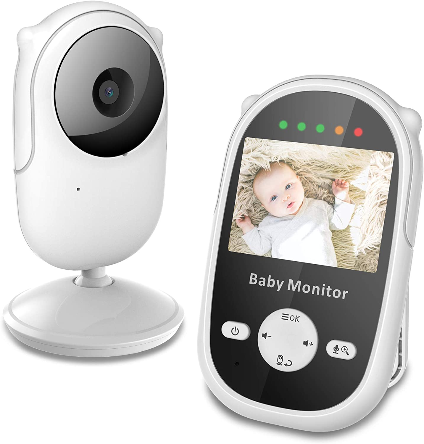 Newbaby Video Baby Monitor with Displ Ranking TOP4 2.4