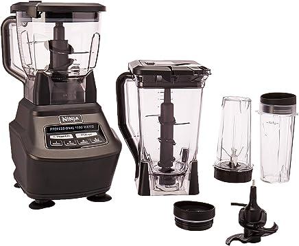 Ninja Mega Kitchen System, Sistema Ninja Mega de Cocina - Licuadora, Procesador, Vasos Nutri Ninja (BL770)