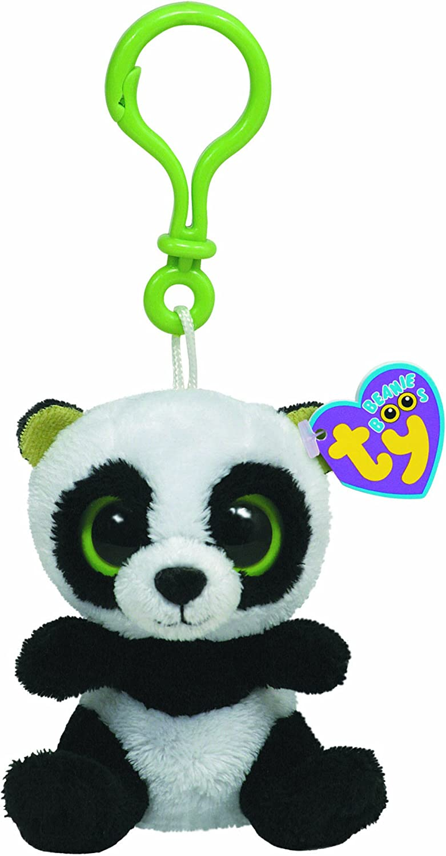 los nuevos estilos calientes Ty 36502 Beanie Boos - Oso Oso Oso panda de peluche Bamboo con anilla  perfecto