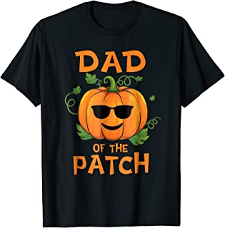 Pumpkin Dad of the Patch T-Shirt Family Halloween Tee