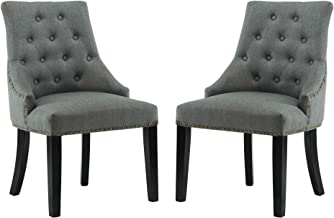 Best black and gray dining chairs Reviews