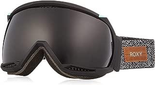 Roxy Women's Hubble Snow Goggles, True Black, One Size