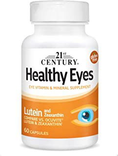 21st Century Healthy Eyes Lutein and Zeaxanthin Capsules, 60 Count (27454)