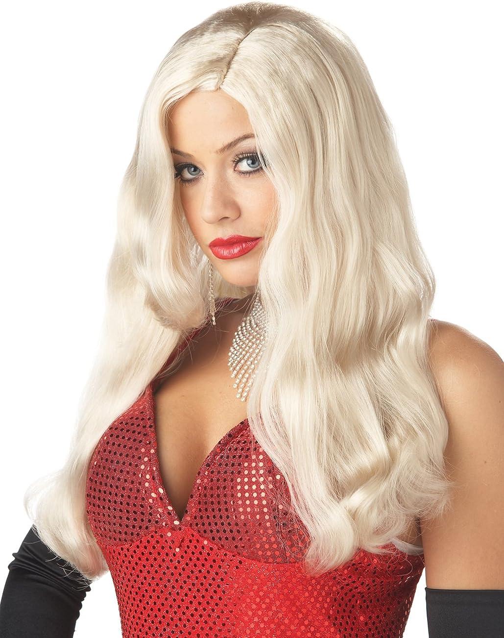 California Costumes Blonde Silver Sinsation Save money Screen Wig Max 78% OFF