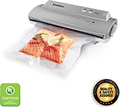 FoodSaver V2244 Vacuum Sealer Machine for Food Preservation with Bags and Rolls Starter Kit | #1 Vacuum Sealer System | Compact & Easy Clean | UL Safety Certified | Silver