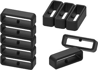 comprar comparacion Ruentech - Anillo de cierre de silicona compatible con Garmin Forerunner 220 230 235 620 630 735Xt /Garmin Fenix 6 Pro/For...