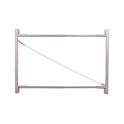 """Adjust-A-Gate Steel Frame Gate Building Kit (36""""-72"""" wide openings up to 6' high fence)"""