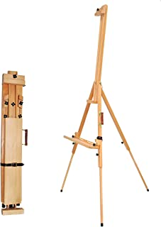 Nature Art Easel for Painting, Adjustable Tripod Easel&Floor Easel for Painting, Beech Wood Easel