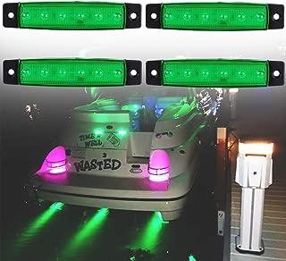 PSEQT 6 LED Marine Boat Trailer Utility Led Interior Lights Deck Pontoon Kayak Underwater Transom Navigation Bow Yacht Waterproof