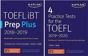 TOEFL Prep Set: 2 Books + Online (Kaplan Test Prep)