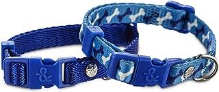 Bond & Co. Blue Adjustable Collar 2 Pack