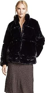 Women's Sarah Quilted Faux Fur Coat