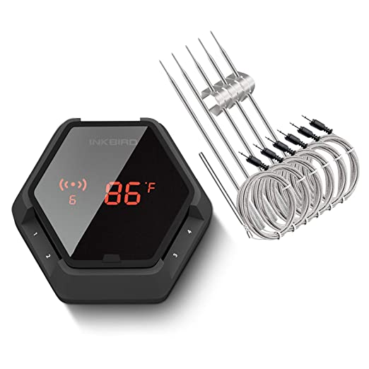 Inkbird IBT-6XS Bluetooth Wireless Thermometer - Six Probes