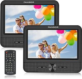 comprar comparacion FANGOR Reproductor de DVD Portátil con 2 Pantallas 7.5