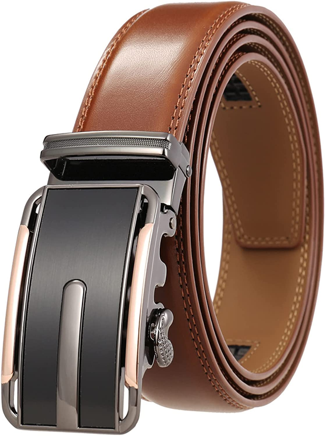 BAJIE Men's Belt Seattle Mall Belts Leather Automatic with Buckle Latest item