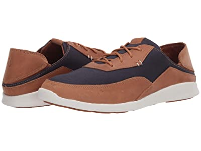 OluKai Kihi (Trench Blue/Tan) Men