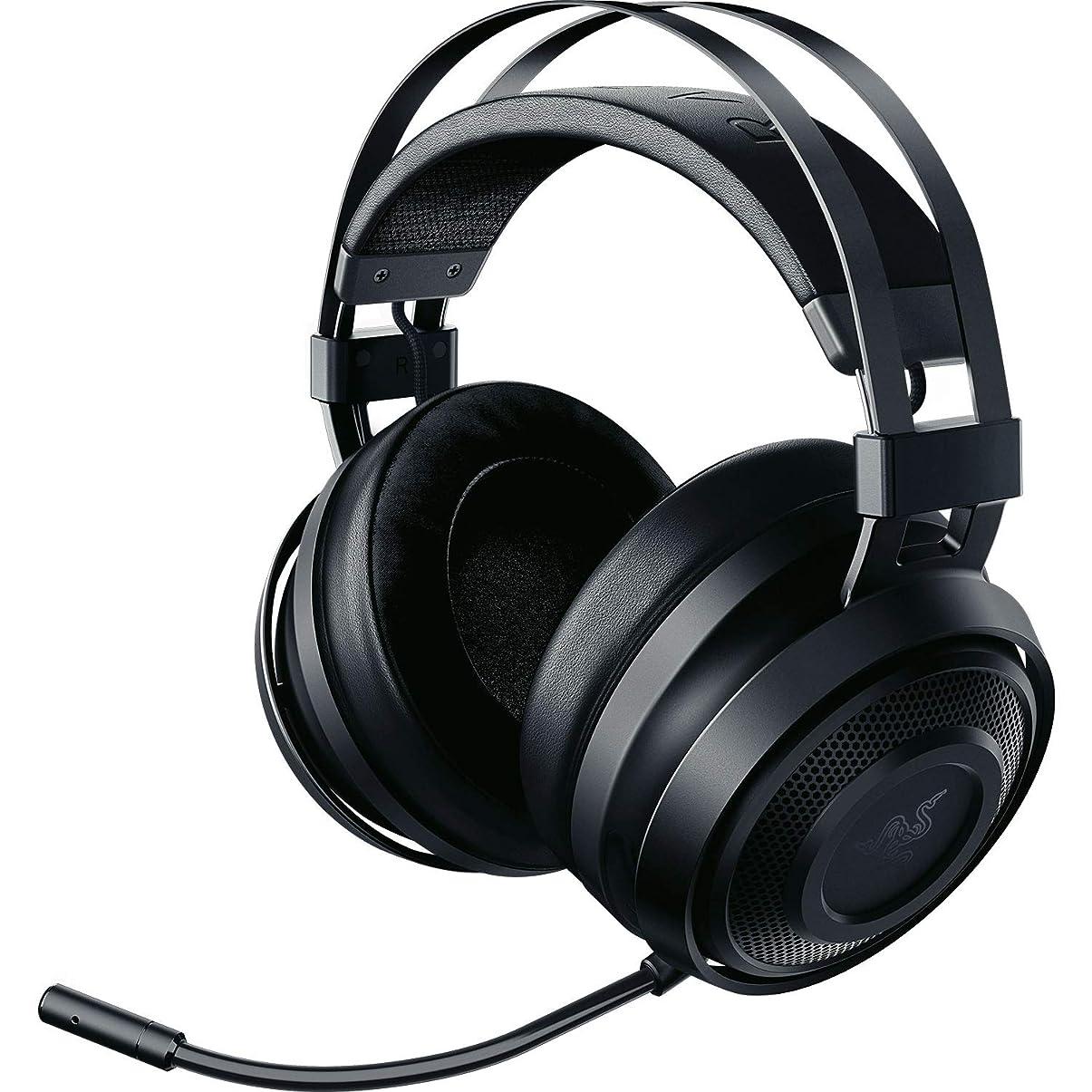 サイクロプス小川縮れたRazer Nari Essential ゲーミングヘッドセット THX 360度立体音響 無線 冷却ジェルパッド 【日本正規代理店保証品】 RZ04-02690100-R3M1