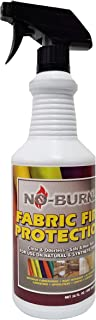 Best no-burn fabric fire protection Reviews