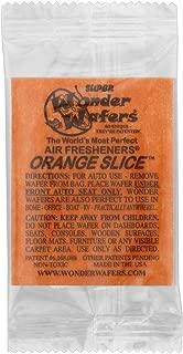 Wonder Wafers 10 CT Individually Wrapped Air Fresheners Orange Slice