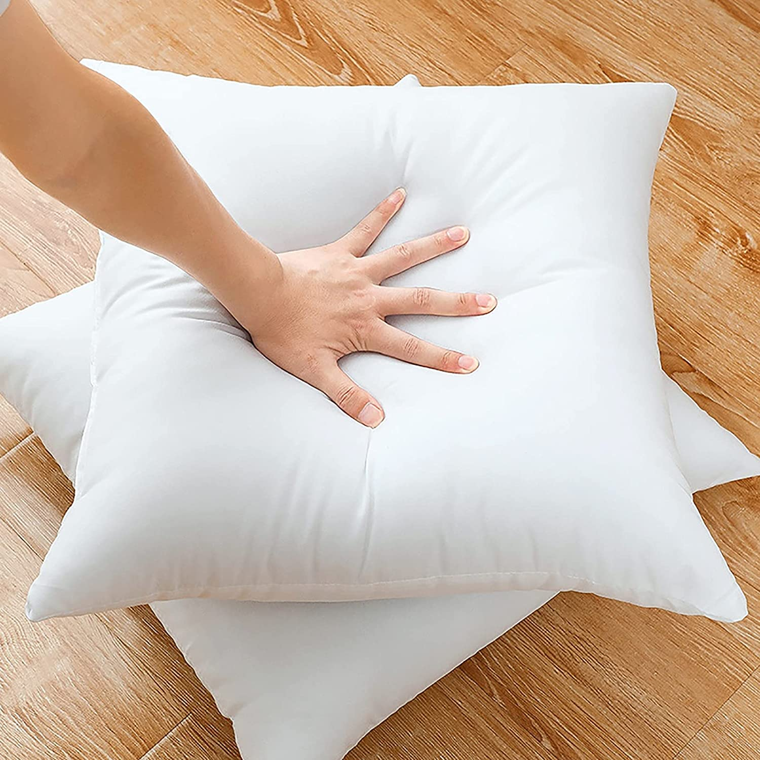 ZJING Decorative Pillow Inserts Microfiber-Filled Multi-Size Limited Special 5 popular Price Du