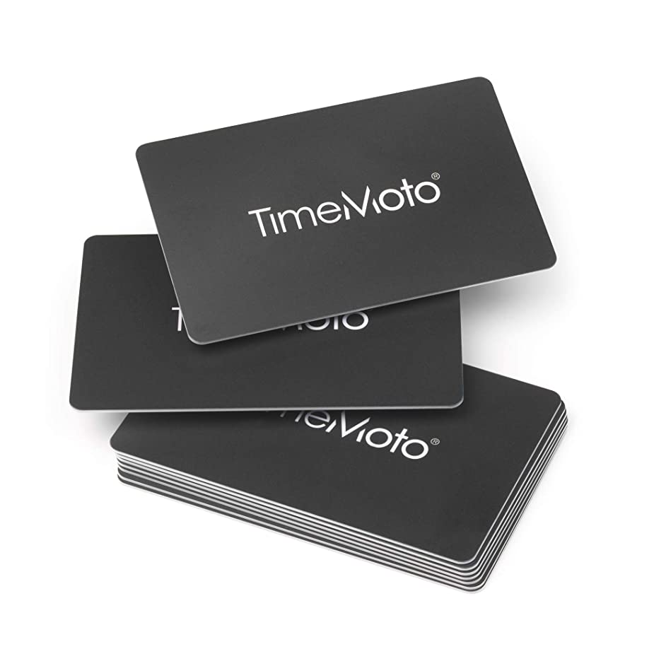 TimeMoto RF-100 RFID Cards for RFID Time Clock
