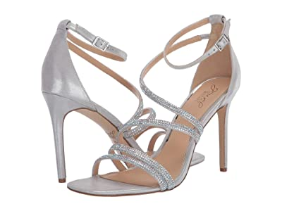 Jewel Badgley Mischka Nikkol (Silver/Iridescent) Women