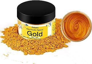 Retazly Mica proszek pigmenty z żywicy epoksydowej, 70G farba do robienia świec metaliczny perłowy brokat kolor w butelce,...