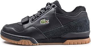 2ba141f6fd08 Lacoste Missouri 318 1 G SPM Blk Gum Leather Textile Suede