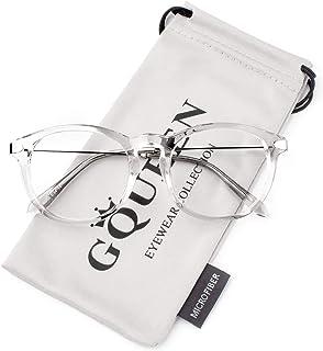 Fashion Fake Glasses Non Prescription Clear Glasses,...