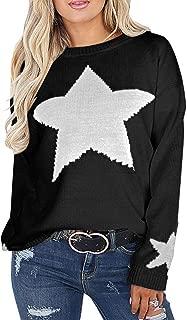 Women's Pullover Sweaters Long Sleeve Crewneck Cute Heart...
