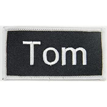 Embroidered Name Tag Patch SCOTT