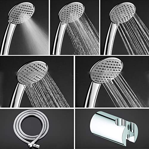 ALTON SHR20765 5-Function Hnad Shower With SS-304 Grade 1.5 Meter Flexible Hose Pipe and Wall Hook (Chrome) product image