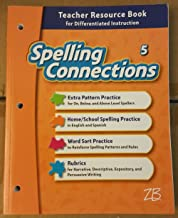 Spelling Connections - Teacher Resource Book for Differentiated Instruction - Grade 5