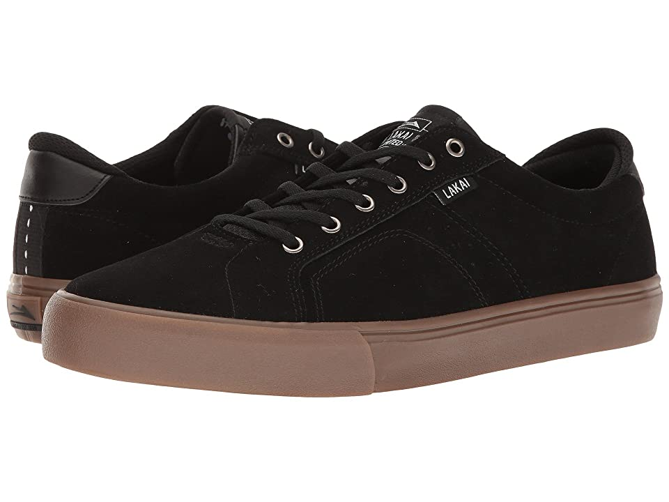 Lakai Flaco (Black/Gum Suede) Men