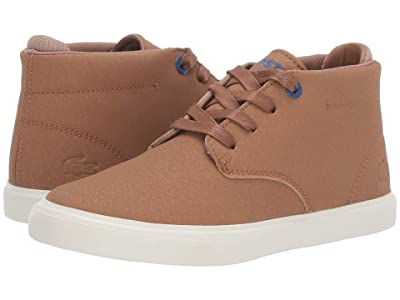 Lacoste Kids Esparre Chukka 319 1 (Little Kid) (Light Brown/Off-White) Kid